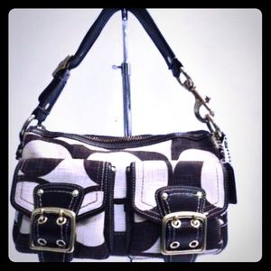 EXCELLENT COND LIMITED EDITION COACH LEGACY PURSE